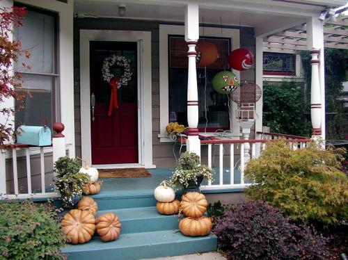 Kim's porch