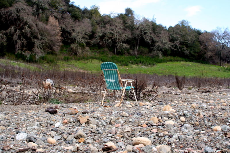 Lake bed chair