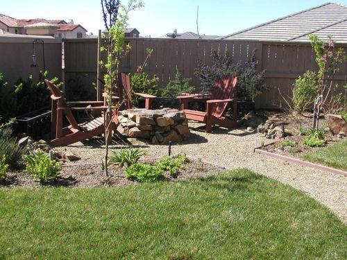 Jenny's yard before 2