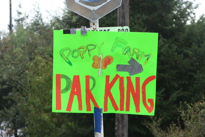 Poppy parking